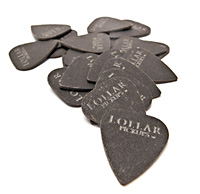 Lollar picks are made of Forbon