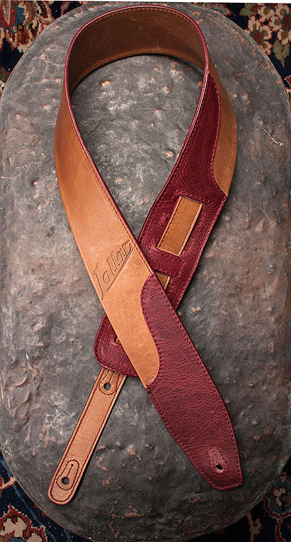 Lollar Strap In Tan/Merlot