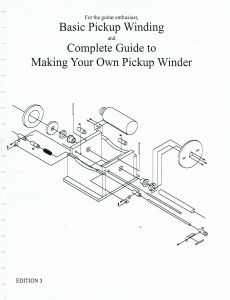 pickup winding book by jason lollar now available lollar pickups blog. Black Bedroom Furniture Sets. Home Design Ideas