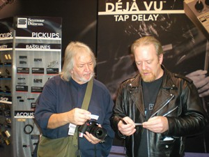 Jason Lollar & Seymour Duncan. Can you guess what they are talking about?