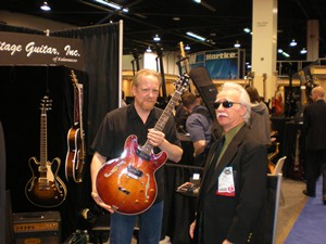 Jason visits with Gregg from Heritage Guitars.  The Heritage H530 features our standard wind Lollar P-90s.