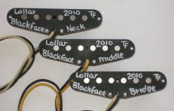 Lollar Blackface sets are a best selling item