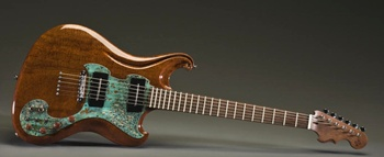 "Lollar Blade Style pickups are featured on the ""Phoenix"""