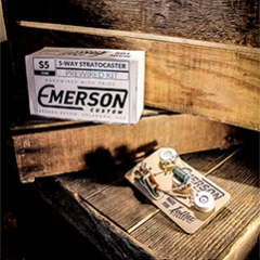 emerson 5-way prewired kit for strat